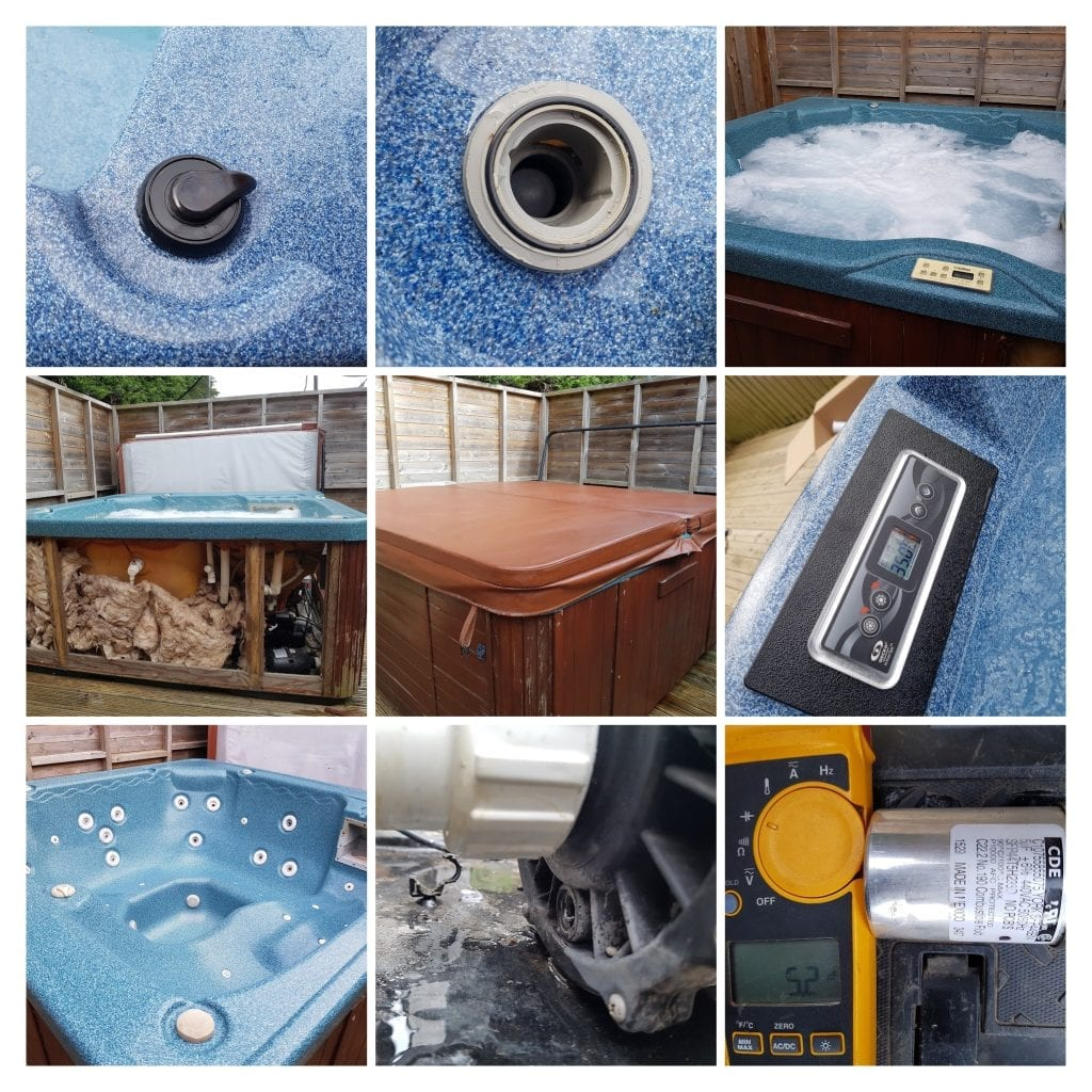 Spa and Hot tub repairs
